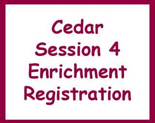 Cedar Session 4