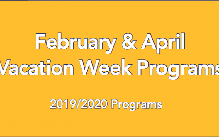 Feb and Apr Vacation Programs